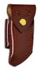 Leather sheath for folding knives MFK and Pelican